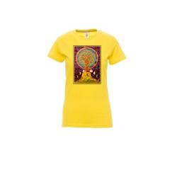Maglietta Donna Giallo...