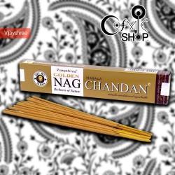 Incenso Golden Nag Chandan...
