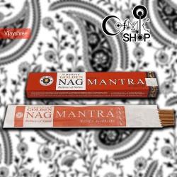 Incenso Golden Nag Mantra 15gr
