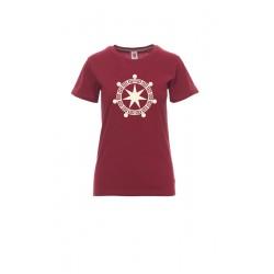 T-Shirt Donna Crop Circle 7...