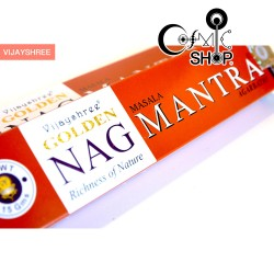 Incenso Golden Nag Mantra 15gr
