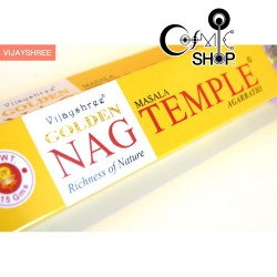 Incenso Golden Nag Temple 15gr
