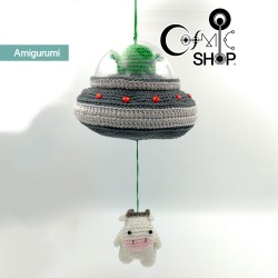 Amigurumi Ufo Rapimento...